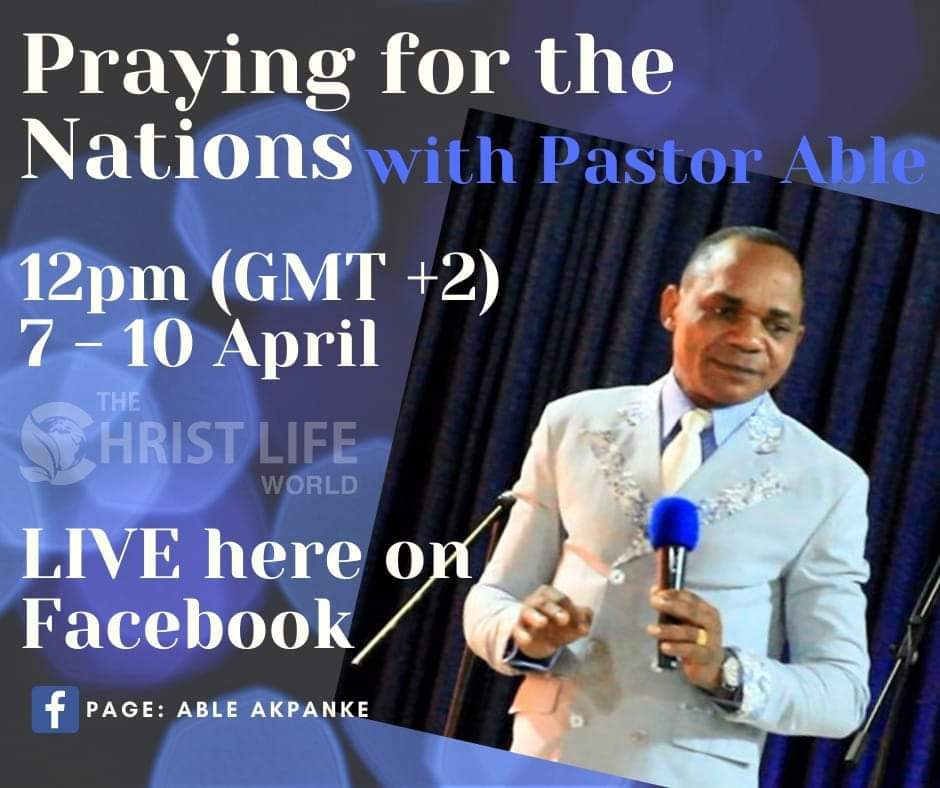 Global Prayer with Pastor Able
