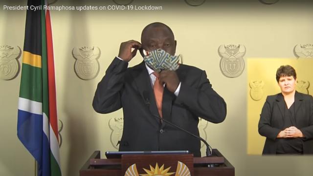 President Ramaphosa Coronavirus Nation Address