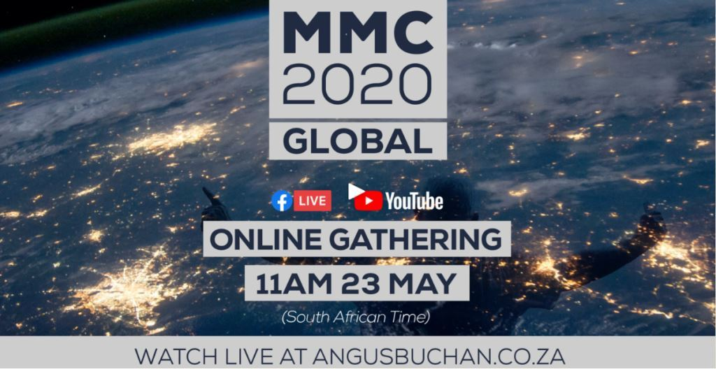 2020 MMC Global Online Gathering - Mighty Men Conference with Angus Buchan