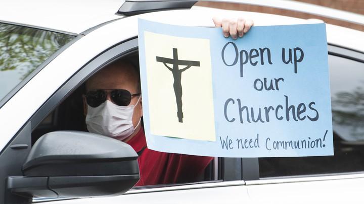 Churches open Lockdown regulations level 3