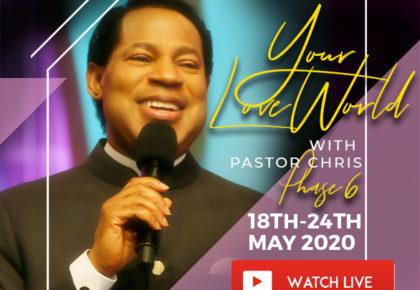 GLOBAL ONLINE PRAYER MEETING WITH PASTOR CHRIS