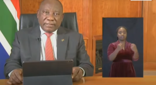 President Cyril Ramaphosa speech Churches to open National Lockdown 26 May 2020