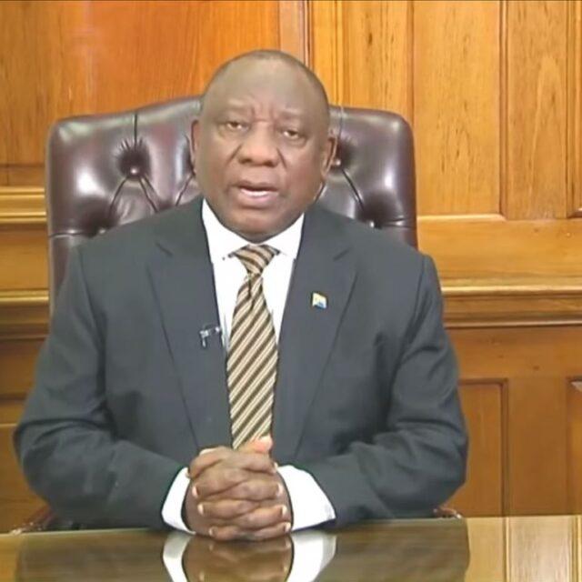 President Ramaphosa Speech Level 1