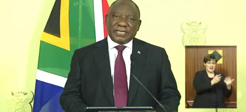 Presidents speech 14 December 2020 President Cyril Ramaphosa