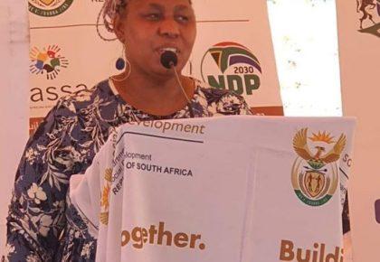 Deputy Minister of Social Development Hendrietta Bogopabe Zulu to close churches
